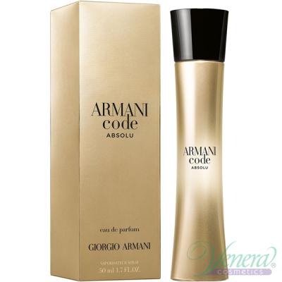 Armani Code Absolu EDP 50ml за Жени Дамски Парфюми