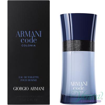 Armani Code Colonia EDT 50ml за Mъже Мъжки Парфюми