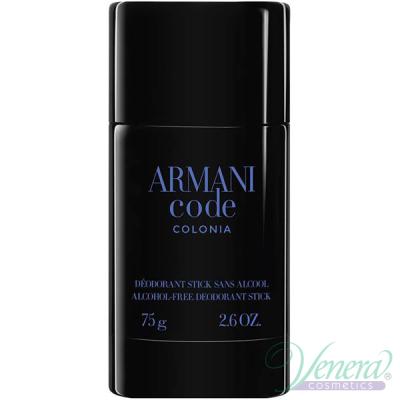 Armani Code Colonia Deo Stick 75ml за Mъже Мъжки продукти за лице и тяло
