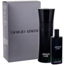 Armani Code Комплект (EDT 75ml + EDT 15ml) за Mъже