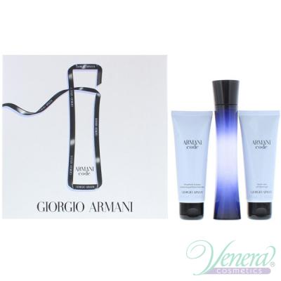 Armani Code Комплект (EDP 75ml + Body Lotion 75ml + Shower Gel 75ml) за Жени