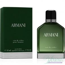Armani Eau de Cedre EDT 50ml за Мъже