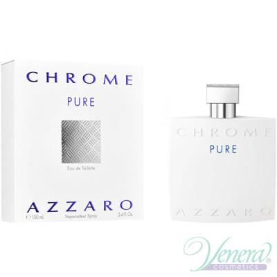 Azzaro Chrome Pure EDT 100ml за Мъже