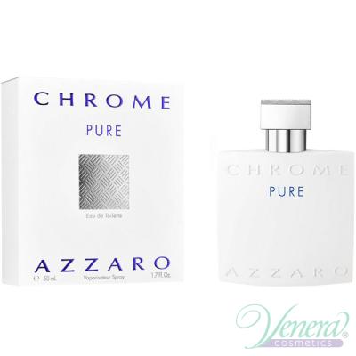 Azzaro Chrome Pure EDT 50ml за Мъже Мъжки Парфюми