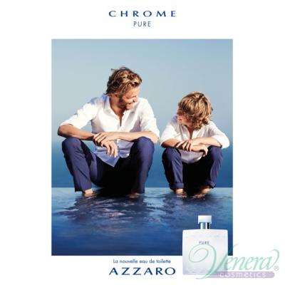 Azzaro Chrome Pure Комплект (EDT 50ml + Deo Sti...