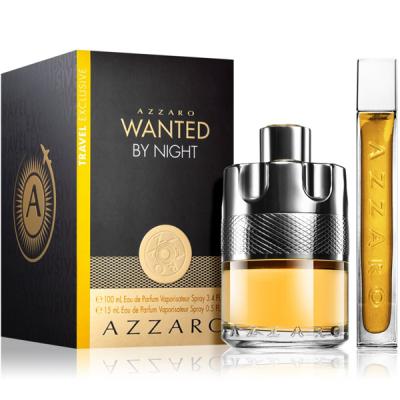 Azzaro Wanted by Night Комплект (EDP 100ml + EDP 15ml) за Мъже