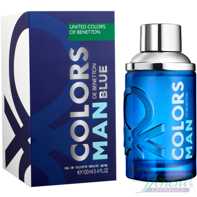 Benetton Colors Man Blue EDT 100ml for Men