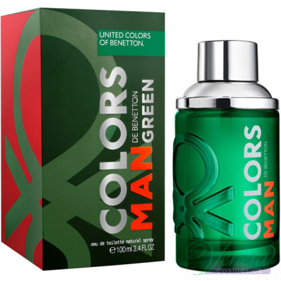 Benetton Colors Man Green EDT 100ml for Men