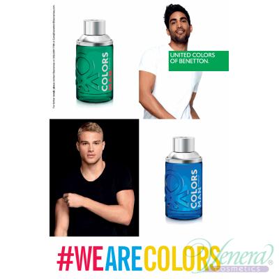 Benetton Colors Man Green EDT 200ml за Мъже Мъжки Парфюми