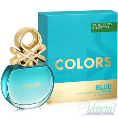Benetton Colors de Benetton Blue EDT 50ml ...
