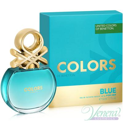 Benetton Colors de Benetton Blue EDT 50ml за Жени Дамски Парфюми