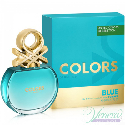 Benetton Colors de Benetton Blue EDT 80ml ...