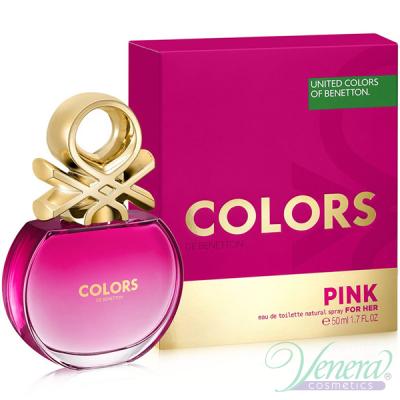 Benetton Colors de Benetton Pink EDT 50ml за Жени Дамски Парфюми