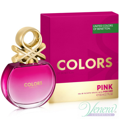 Benetton Colors de Benetton Pink EDT 80ml ...