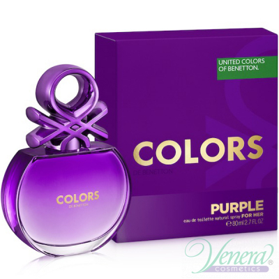 Benetton Colors de Benetton Purple EDT 80ml за Жени
