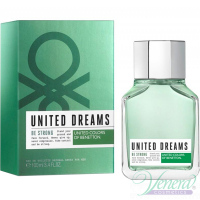 Benetton United Dreams Men Be Strong EDT 100ml за Мъже Мъжки Парфюми