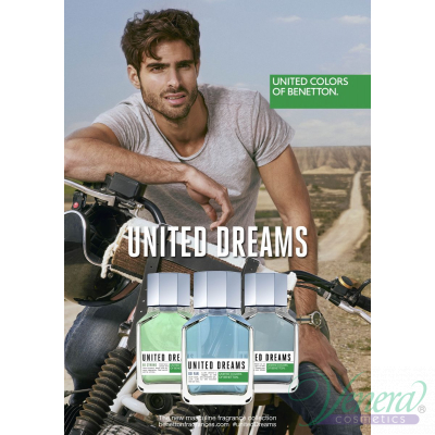 Benetton United Dreams Men Be Strong EDT 100ml за Мъже
