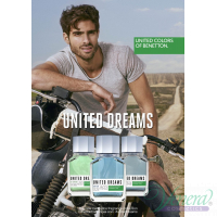 Benetton United Dreams Men Go Far EDT 100ml за Мъже Мъжки Парфюми