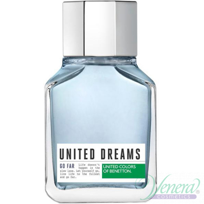 Benetton United Dreams Men Go Far EDT 100ml за Мъже БЕЗ ОПАКОВКА Мъжки Парфюми без опаковка