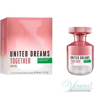 Benetton United Dreams Together EDT 50ml за Жени Дамски Парфюми