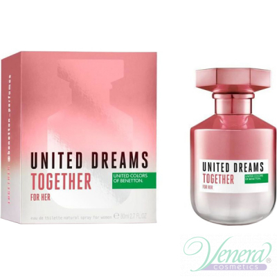 Benetton United Dreams Together EDT 80ml for Women