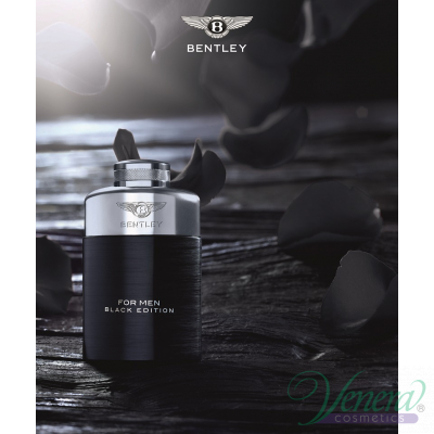 Bentley Bentley For Men Black Edition EDP 100ml за Мъже Мъжки парфюми