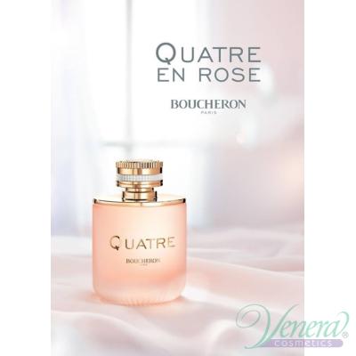 Boucheron Quatre En Rose EDP 100ml за Жени БЕЗ ОПАКОВКА Дамски Парфюми без опаковка
