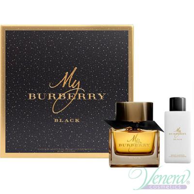 Burberry My Burberry Black Комплект (EDP 50ml + BL 75ml) за Жени Дамски Комплекти