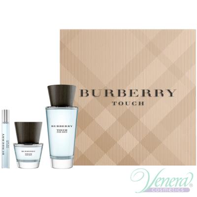 Burberry Touch Комплект (EDT 100ml + EDT 30ml + EDT 7.5ml) за Мъже Мъжки Комплекти