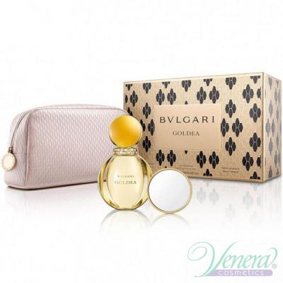 Bvlgari Goldea Комплект (EDP 90ml + Beauty Mirror + Bag) за Жени