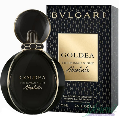 Bvlgari Goldea The Roman Night Absolute EDP 75ml за Жени Дамски Парфюми