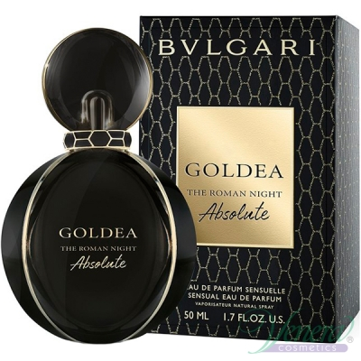 Bvlgari Goldea The Roman Night Absolute EDP 50ml за Жени Дамски Парфюми