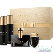 Bvlgari Jasmin Noir Комплект (EDP 100ml + EDP 25ml + BL 200ml + SG 200ml) за Жени
