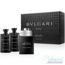 Bvlgari Man Black Cologne Комплект (EDT 60ml + AS Balm 40ml + SG 40ml) за Мъже