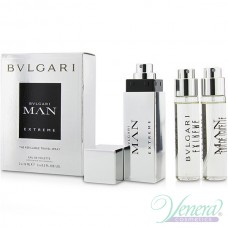 Bvlgari Man Extreme Refillable Travel EDT 3x15ml за Мъже