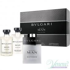 Bvlgari Man Extreme Комплект (EDT 60ml +AS Balm 40ml +SG 40ml) за Мъже
