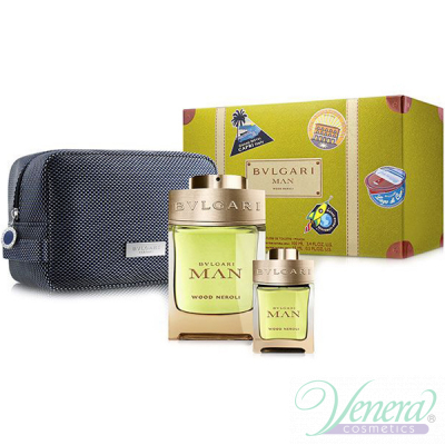 Bvlgari Man Wood Neroli Комплект (EDP 100m...