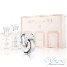 Bvlgari Omnia Crystalline Комплект (EDT 40ml + BL 40ml + SG 40ml) за Жени