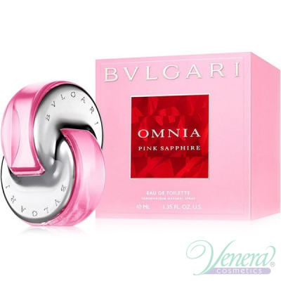 Bvlgari Omnia Pink Sapphire EDT 40ml за Жени Дамски Парфюми