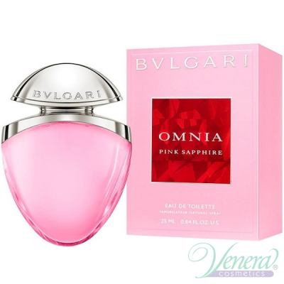 Bvlgari Omnia Pink Sapphire Jewel Charms EDT 25ml за Жени Дамски Парфюми