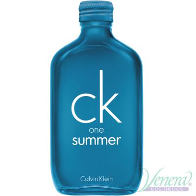 Calvin Klein CK One Summer 2018 EDT 100ml за Мъже и Жени БЕЗ ОПАКОВКА Унисекс Парфюми без опаковка