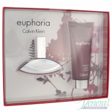 Calvin Klein Euphoria Set (EDP 30ml + Body Lotion 100ml) за Жени