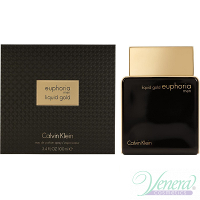 Calvin Klein Euphoria Men Liquid Gold EDP 100ml за Мъже Мъжки Парфюми