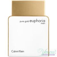 Calvin Klein Pure Gold Euphoria Men EDP 100ml за Мъже БЕЗ ОПАКОВКА