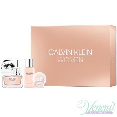 Calvin Klein Women Комплект (EDP 50ml + EDP 5ml + BL 100ml) за Жени
