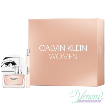 Calvin Klein Women Комплект (EDP 50ml + EDP 10ml) за Жени Дамски Комплекти