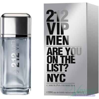 Carolina Herrera 212 VIP Men EDT 200ml за Мъже