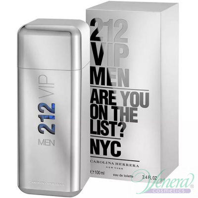 Carolina Herrera 212 VIP Men EDT 50ml за Мъже