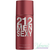 Carolina Herrera 212 Sexy Deo Spray 150ml for Men Men's face and body product's
