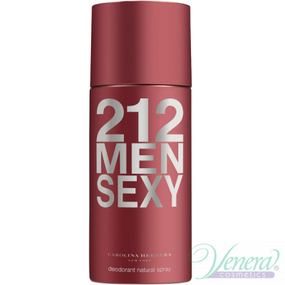 Carolina Herrera 212 Sexy Deo Spray 150ml for Men